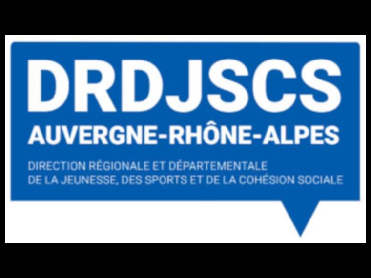 DRDJSCS Auvergne Rhone Alpes logo
