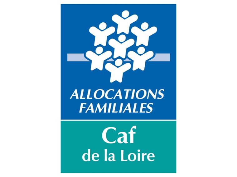 CAF de la Loire logo